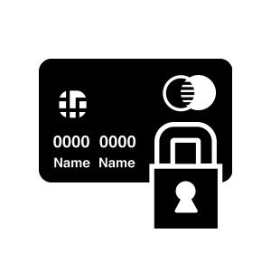 NationalLink Credit Card Lock Icon