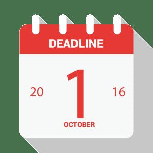 NationalLink Deadline Calendar Icon