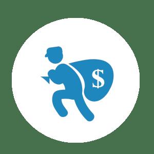 NationalLink ATM - atm skimming criminal icon