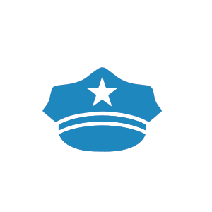 NationalLink - do not touch police icon
