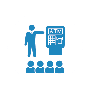 NationalLink ATM - train employees to know what an ATM looks like icon