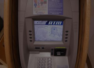 ATM Machine Photo - Close Up