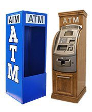 NationalLink ATM branded cabinets and enclosures photo