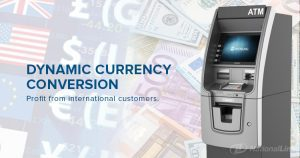 ATM value added services DCC dynamic currency conversion