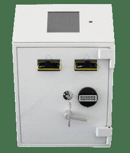NationalLink Smart Safe Machine Intimus Perfodeposit Dual Front Photo