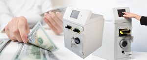 NationalLink Intimus Smart Safe Machine With Cash Photo