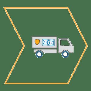 NatonalLink Cash Handling DirectVault Armored Truck Icon