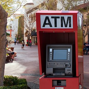 ATM services placement