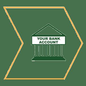 NatonalLink Cash Handling Your Bank Account Icon