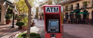 ATM placement services - placement ATM with enclosure at location