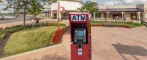 NationalLink ATM Services Retail Centers - ATM placement with enclosure photo