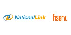 NationalLink and Fiserv - Streamlines Smart Safe Cash Management for Merchants Logo