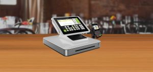 point of sale terminal in restaurant Xpedite payment